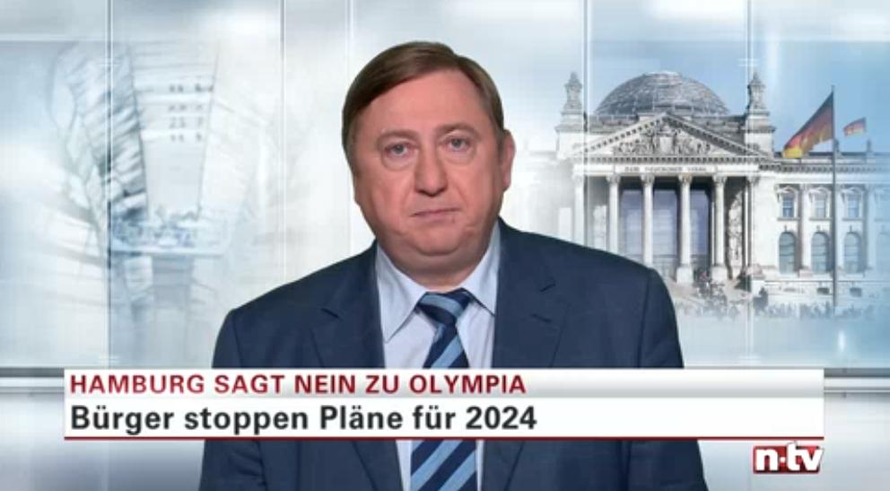 """Hamburg sagt """"Nein"""" zu Olympia"""