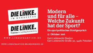 """""""Modern und für alle – Welche Zukunft hat der Sport?"""": Ein sportpolitisches Streitgespräch"""