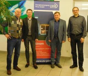 Zu Gast bei den Stadtwerken in Pirna