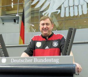André Hahn 2016 Torschützenkönig beim FC Bundestag
