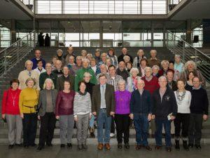 Besuch aus dem Wahlkreis im Bundestag