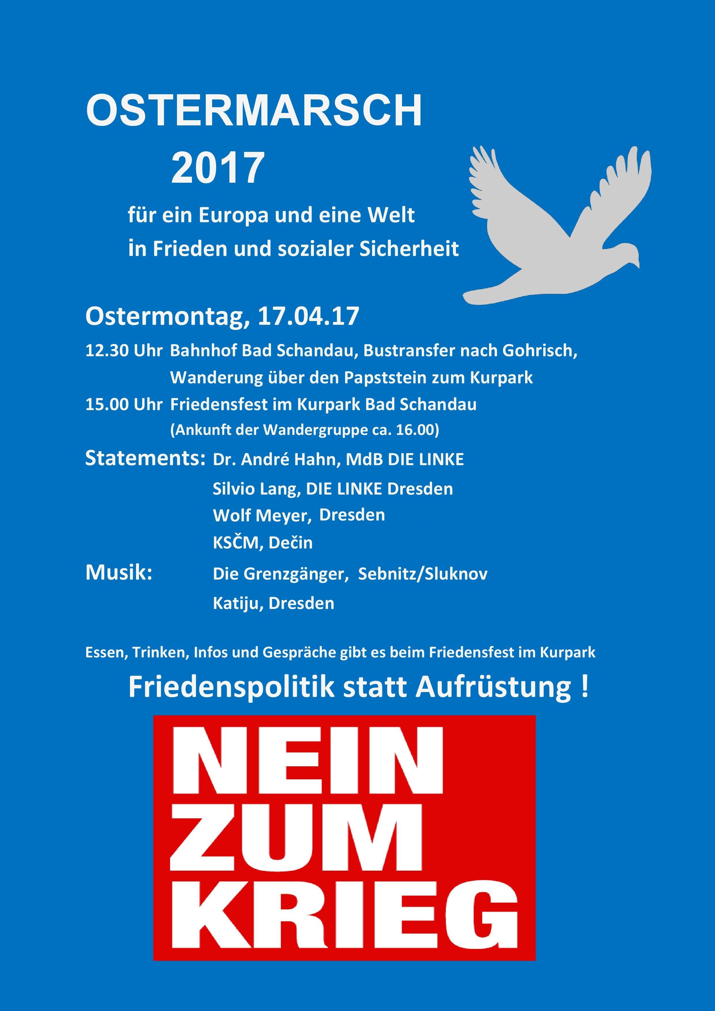 Ostermarsch 2017