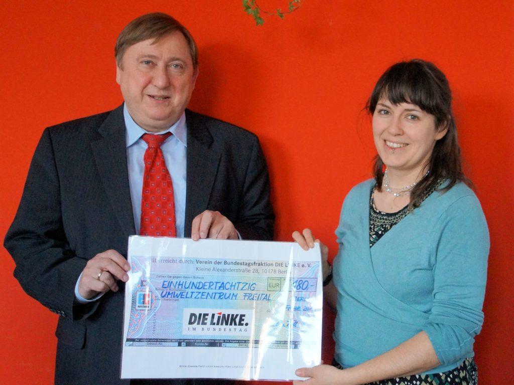 Unterstützung für das Umweltzentrum Freital e.V.