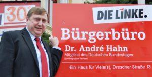 SOZIAL. GERECHT. FRIEDEN. FÜR ALLE. Bürgerforum mit André Hahn und Tilo Hellmann