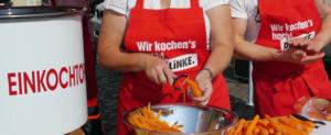 LINKE-Direktkandidat geht auf Wahlkampftour mit Kochtopf