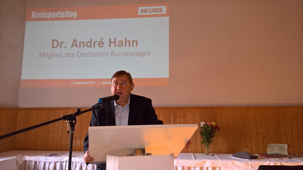 Kreisparteitag der LINKEN Sächsische Schweiz-Osterzgebirge