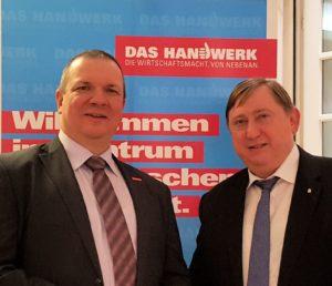 Sächsisches Handwerk trifft Bundestagsabgeordnete