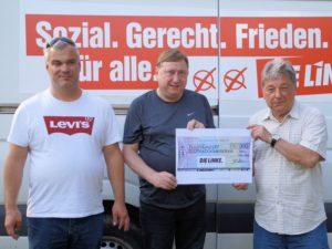Bundestagsfraktion spendet für Friedenswanderung und -fest in der Sächsischen Schweiz