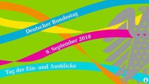 """""""Tag der Ein- und Ausblick"""" im Deutschen Bundestag am 9.9.2018"""