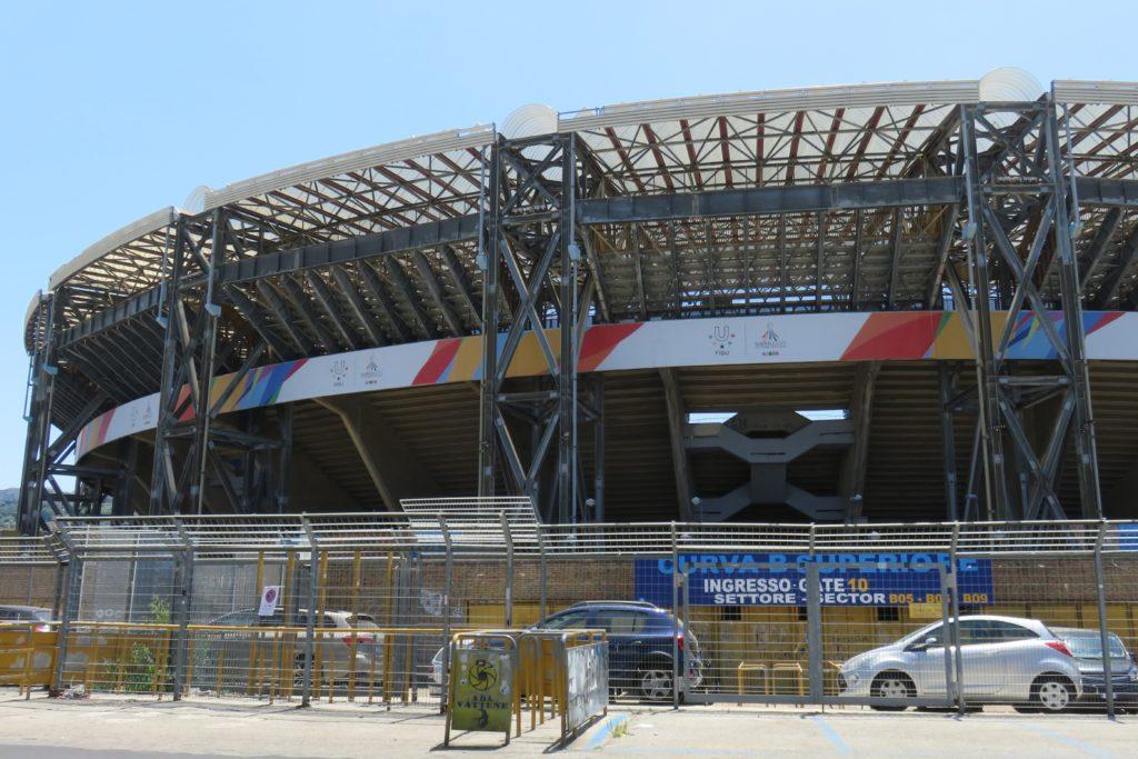 Bericht über meine Reise zur 30. Sommer-Universiade in Neapel