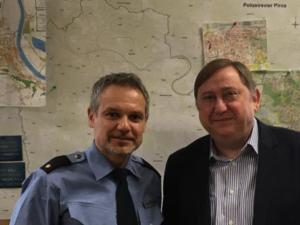Besuch des Polizeireviers Pirna
