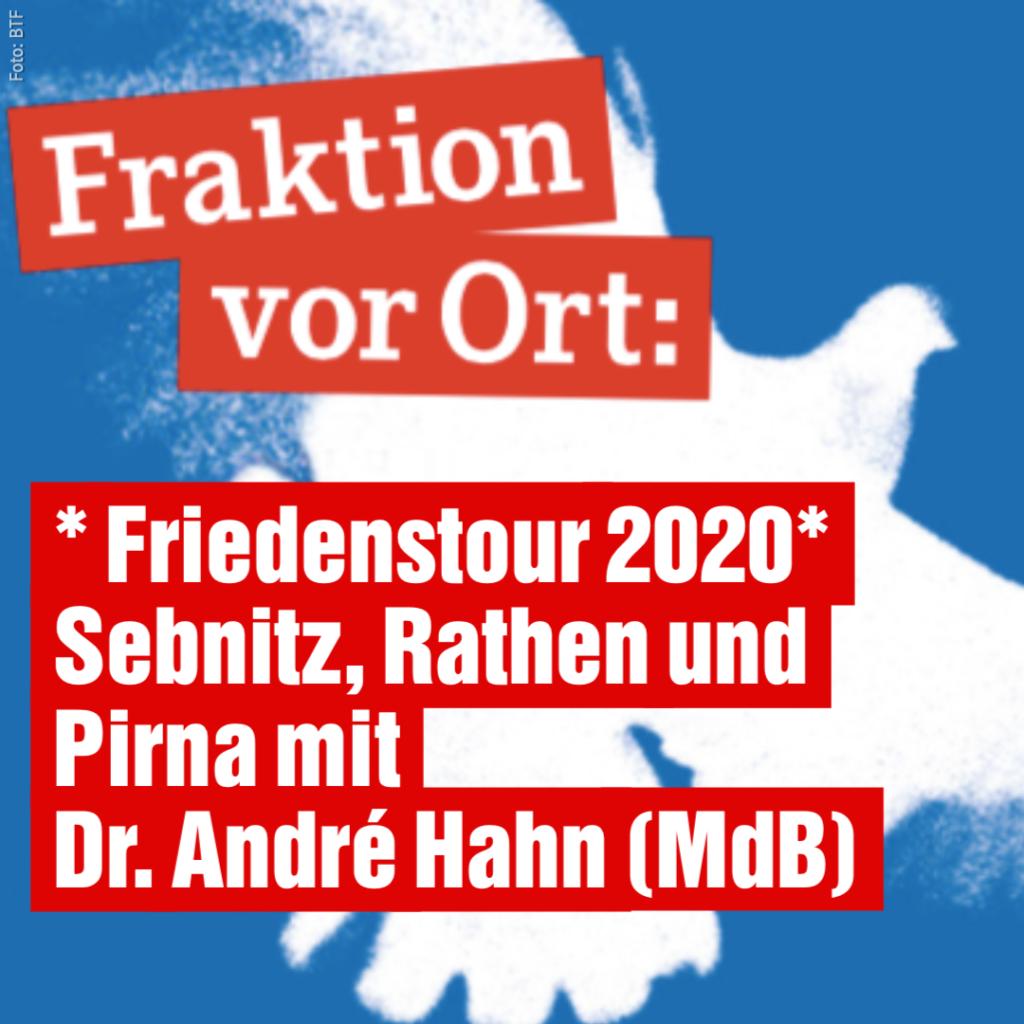 """""""Fraktion VorOrt"""" – Friedenstour 2020"""