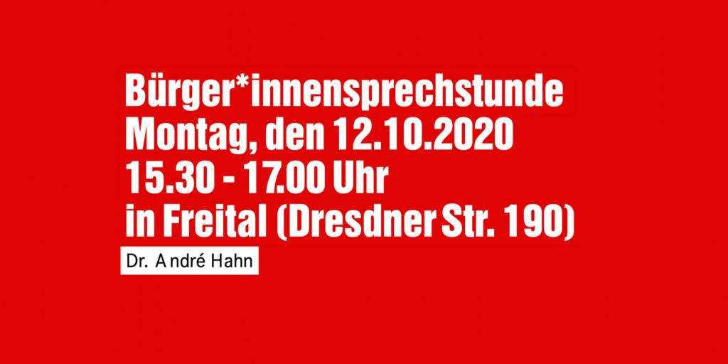 Bürger*innensprechstunde in Freital