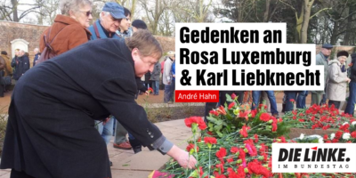 Gedenken an und Rosa und Karl auch in Corona-Zeiten