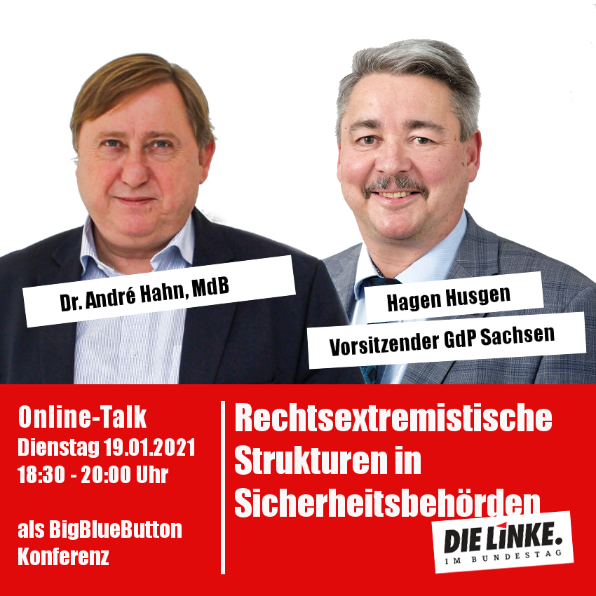 Online-Talk: Rechtsextremistische Strukturen in Sicherheitsbehörden