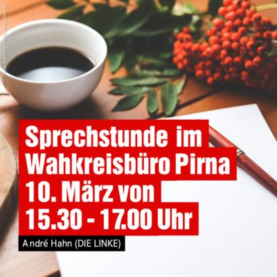Sprechstunde im Wahlkreisbüro Pirna