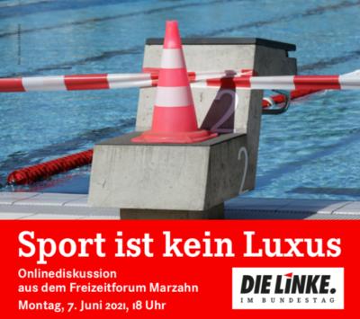 Sport ist kein Luxus