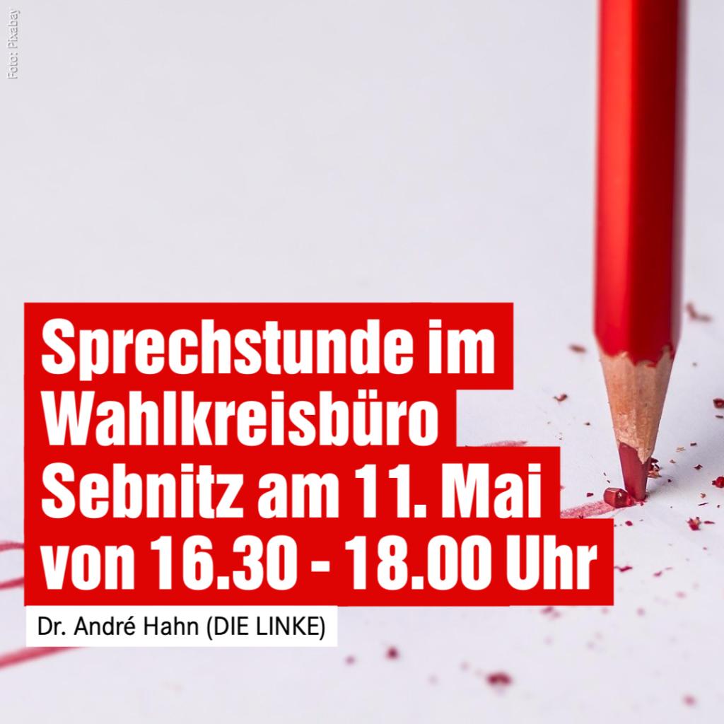 Sprechstunde im Wahlkreisbüro Sebnitz