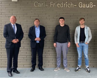 Wahlforum in der Gauß-Oberschule in Pirna