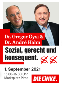Gregor Gysi kommt nach Pirna
